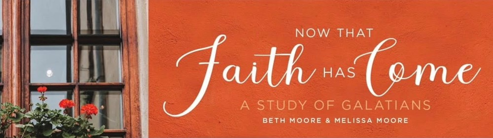 Women's Community - Now That Faith Has Come - Spring 2021 (In Person - PM)